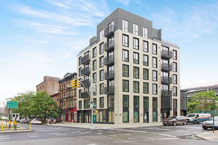 Leasing has launched at this new 17-unit rental building at 49 Broadway in South Williamsburg. (Image via EXR)