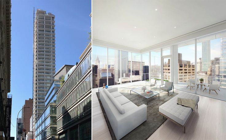 200 East 59th Street nearing completion (Rendering credit: DBOX)