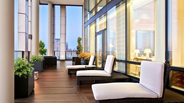 Terrace, 101 Warren Street, Condo, Manhattan, NYC