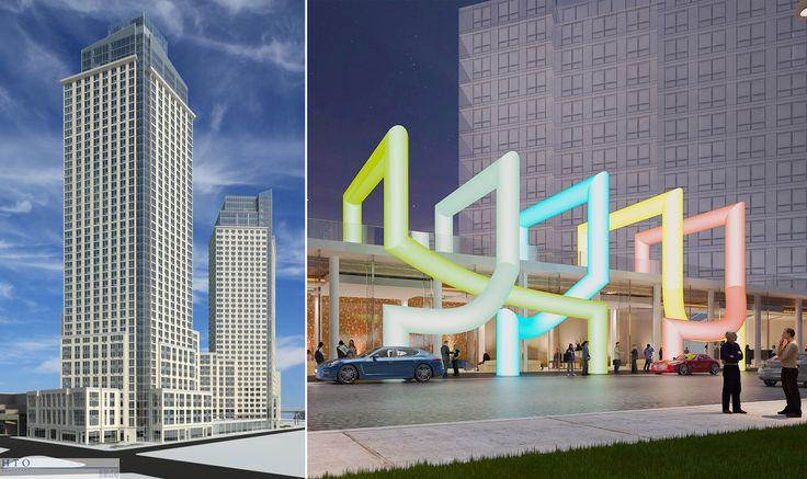 Renderings of LIC's 5Pointz development; Credit HTO Architect / Meshberg Group