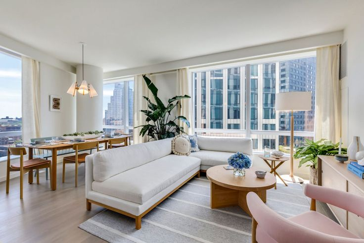 Condo at Brooklyn Point with a running tax abatement that saves the owner thousands in carrying costs per year (Extell Development)