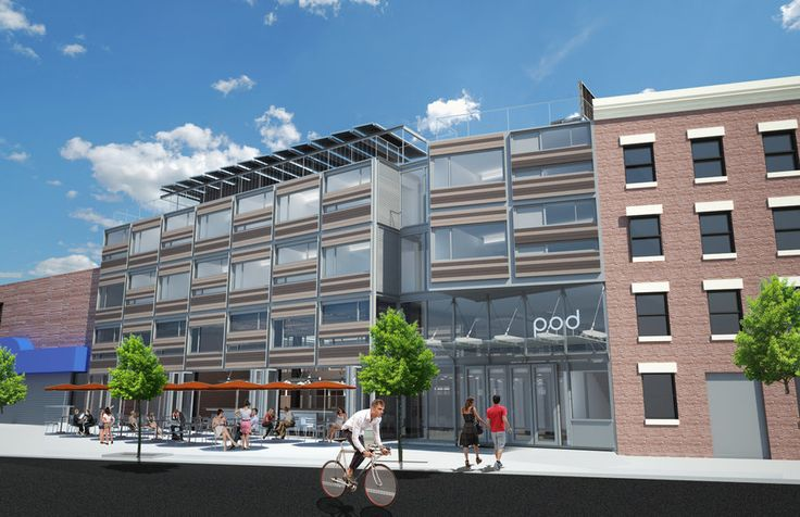 Driggs Pod Hotel (Garrison Architects)