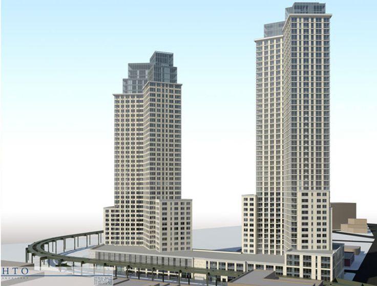 Rendering of 5 Pointz via HTO Architect