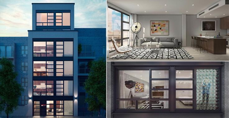 476 Union Avenue will feature a white brick exterior defined by iconic glass block windows.