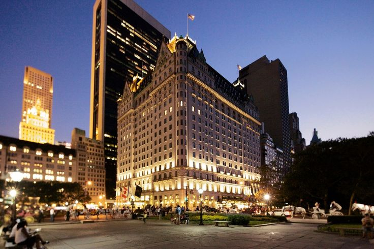 A selection of New York's most beautiful buildings (Plaza Hotel)