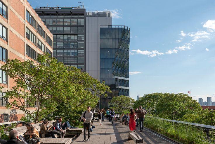 40 Tenth Avenue along the High Line via Timothy Schenck
