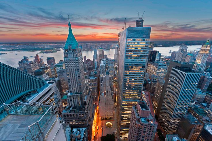 The view from 70 Pine Street via Rose Associates