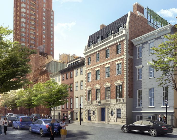 Rendering of 154 East 78th Street created by Anderson Kenny Architecture / CGMAX