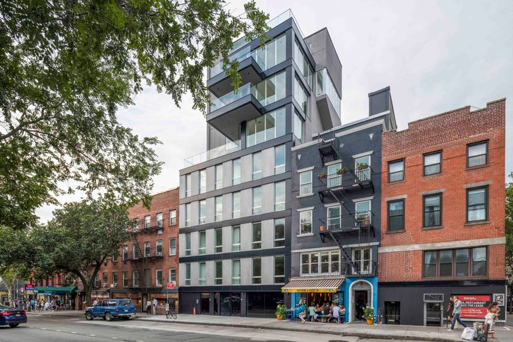The new building at 136 West Houston Street (Image: 136whouston.com)
