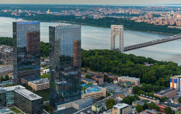 The Modern rental towers in Fort Lee via themodernlife.com
