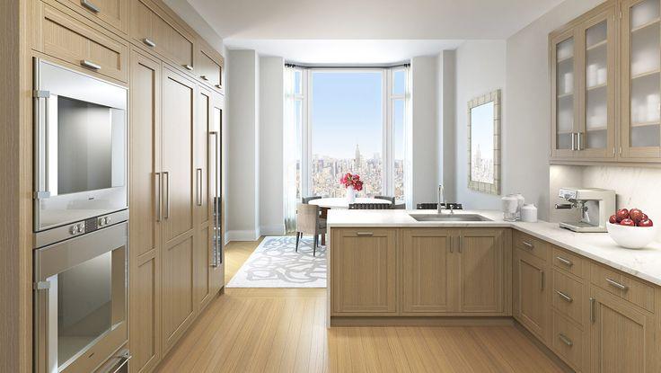 Kitchen, 30 Park Place, Condo, Manhattan, NYC