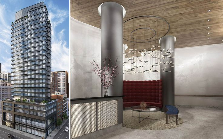 The NOMA will top out at 24 stories and features a Bauhaus design inside and out.