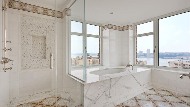 Bathroom, 535 West End Avenue, Condo, Manhattan, NYC