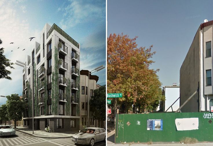 Exterior rendering of 682 Chauncey Street by JFa Associates