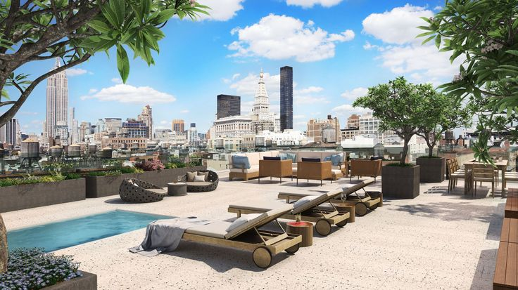 55 West 17th Street Roof Deck