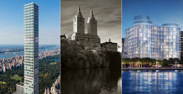 (l-r) 432 Park Avenue, the San Remo, and 160 Leroy Street are among this week's top reported sales