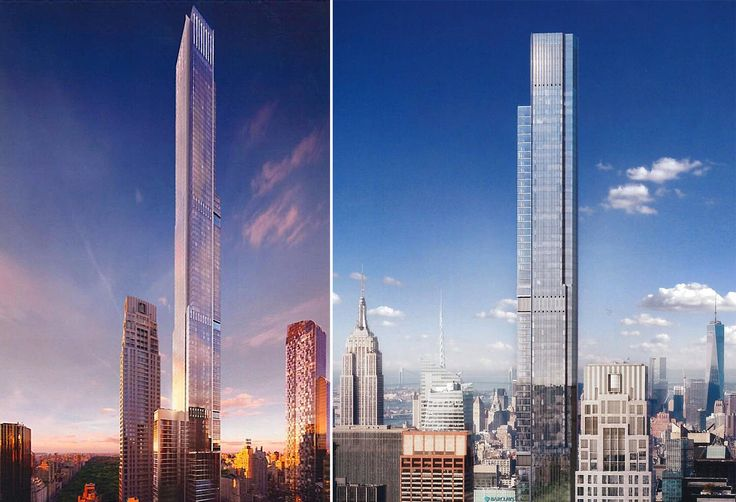 Renderings of Central Park Tower (Extell Development Company)