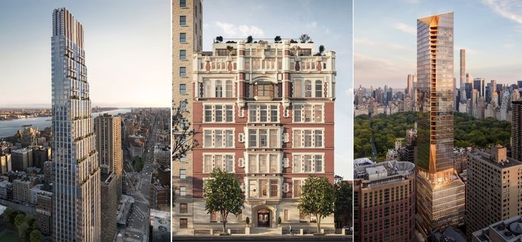 200 Amsterdam, 535 West End, and 50 West 66th Street among the many new development condos on the Upper West Side