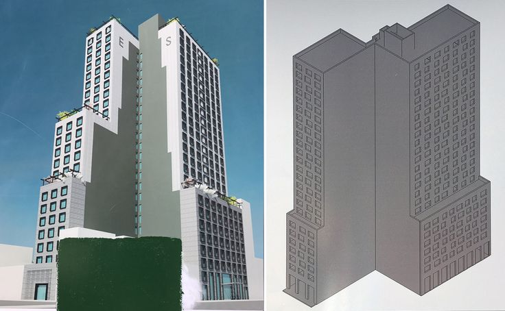 Renderings posted for new residential tower planned at 10 Nevins Street/299-301 Livingston Street