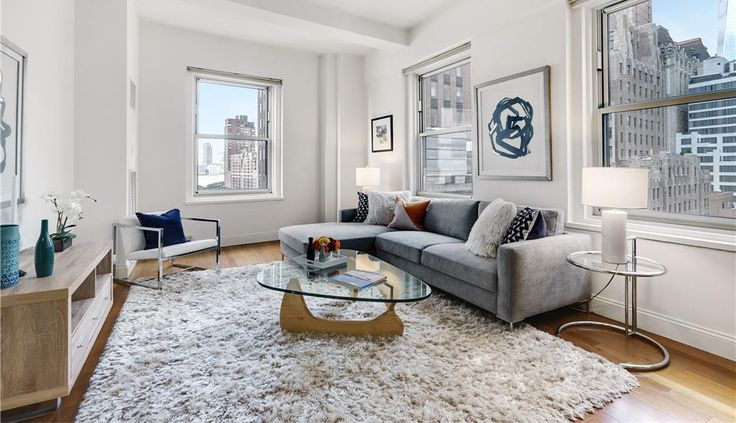 Following a recent price cut, this Financial District condo has been reduced to six figures. (Greenwich Club via Charles Rutenberg)