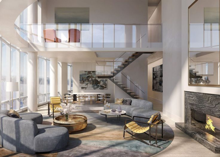 Fifteen Hudson Yards penthouse 88B, via Related-Oxford