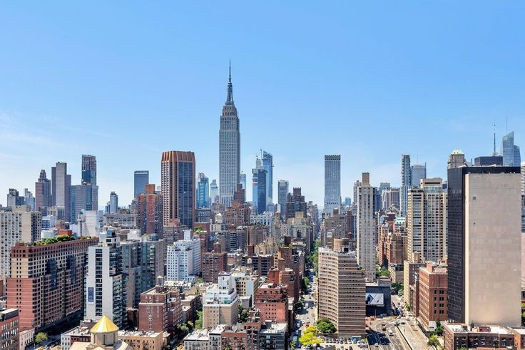 View of Murray Hill and the Empire State Building frm Manhattan Place condos