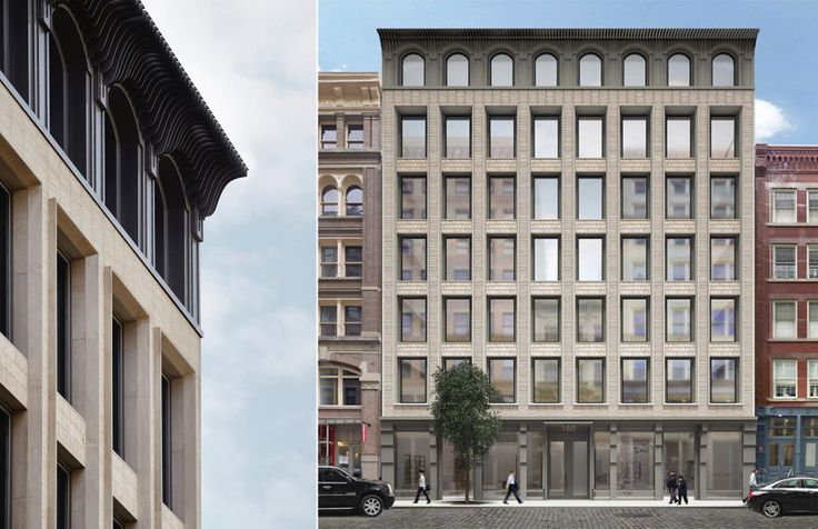 Photo and Rendering of 150 Wooster Street (KUB)