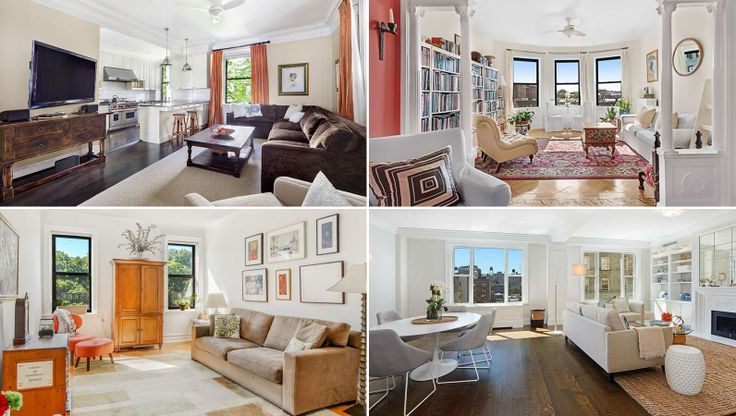 Just-listed apartments that feature the classic six-room spread