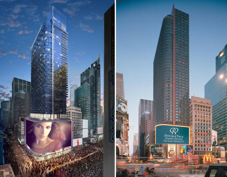 DoubleTree Times Square, 1568 Broadway (Credit: Maefield Development)