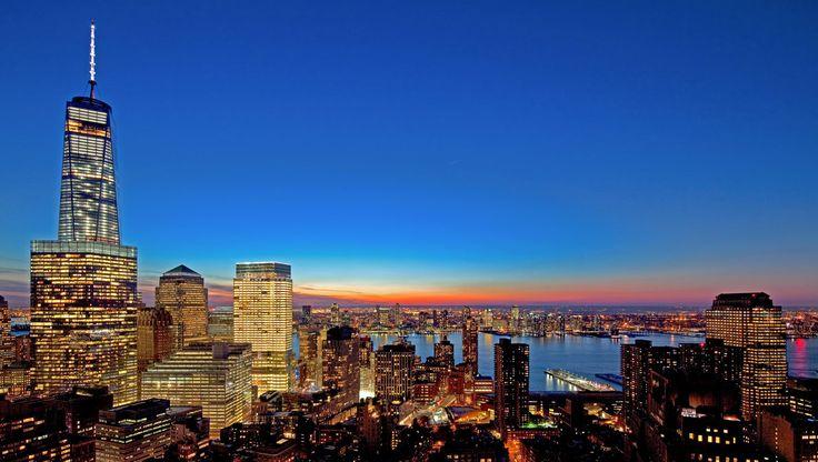 The Tribeca skyline (Image via Related Rentals)