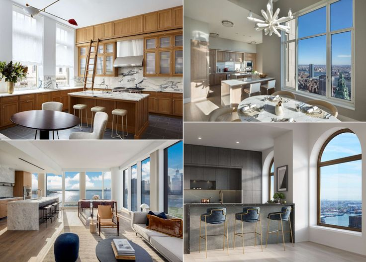 Condos with windowed kitchens selling in NYC