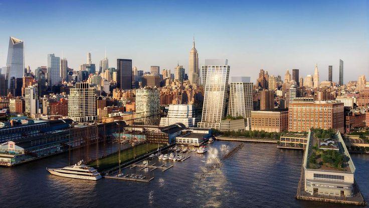 Skyline rendering via Bjarke Ingels Group