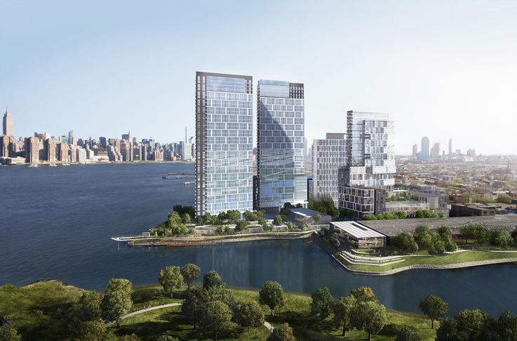 Rendering of the Calyer Place project via New York Construction Report