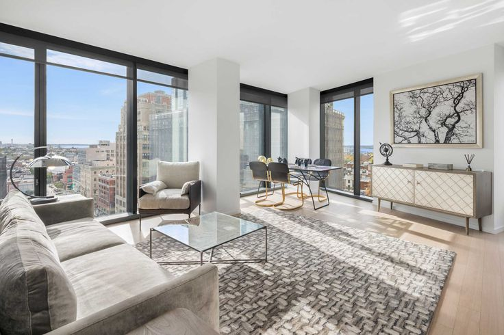 The Lane is a 21-story rental tower with luxury rentals in studio to three-bedroom layouts. (Photo Credit:  Evan Joseph)