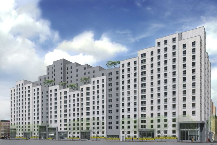 Rendering of The Carolina, via Curtis + Ginsberg Architects