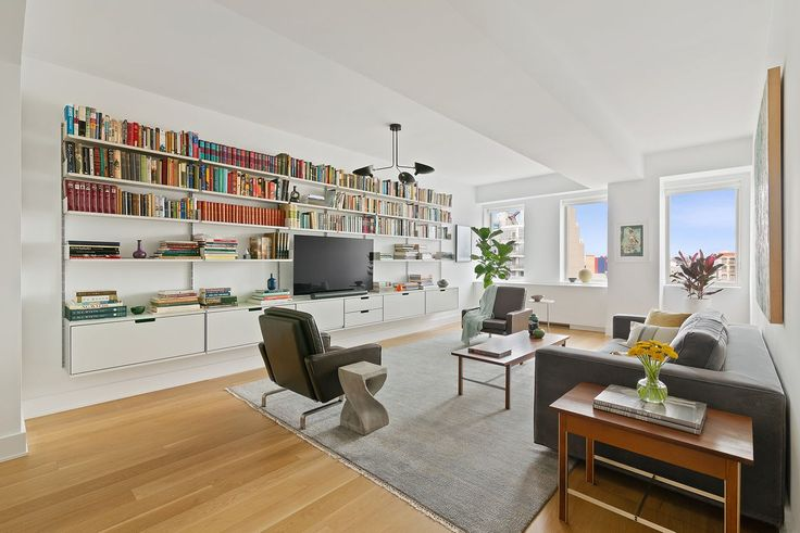 This 3-bed condo with balcony at Brooklyn's Novo is priced under $2M (Compass)