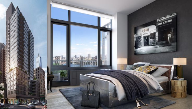 Exhibit at 60 Fulton Street is a new 23-story luxury rental in the Financial District set to debut this summer. (Image via exhibitdowntown.com)