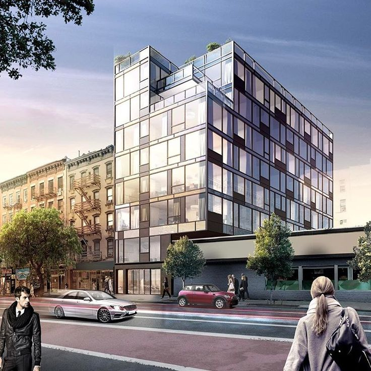 Rendering of 75 First Avenue via HTO Architect