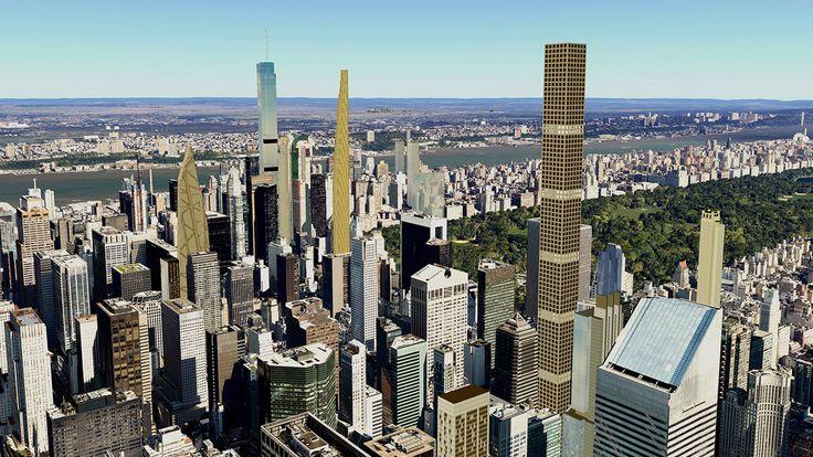 53W53, Google Earth, CityRealty, Development project