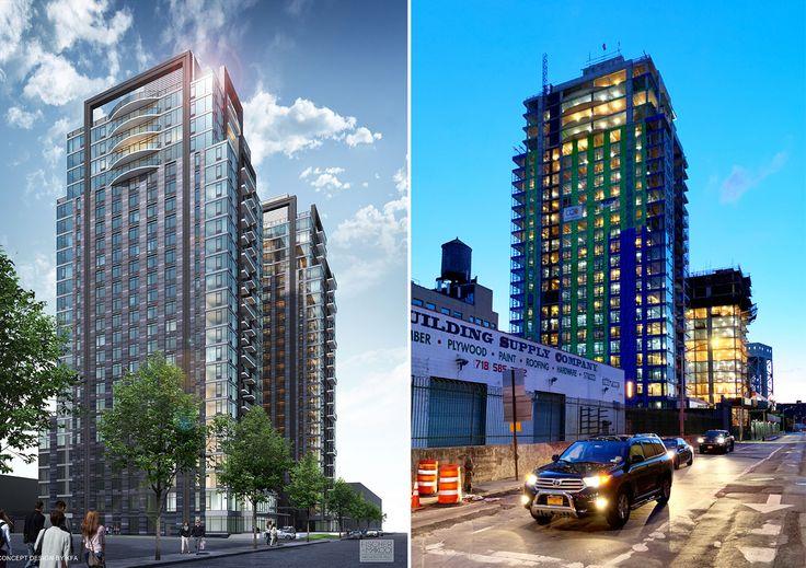 Deegan Towers (Renderings via Fischer Rasmussen Whitefield Architects)
