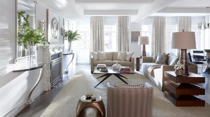 Living Room, 737 Park Avenue, Condo, Manhattan, NYC