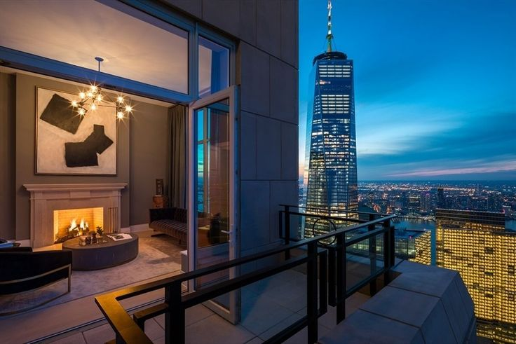 The penthouse is often the epitome of its building. (The Four Seasons Private Residences via Corcoran)