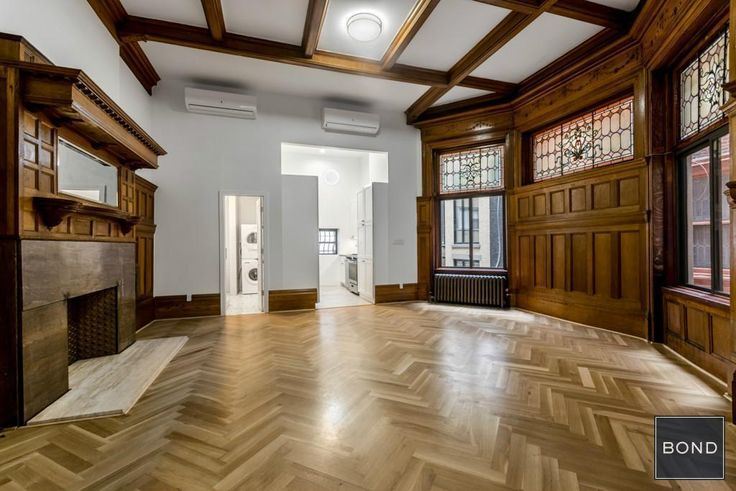 The former brownstone mansion at 14 West 69th Street was recently renovated and has relaunched as a collection of 15 rental residences. (Image via Bond New York)