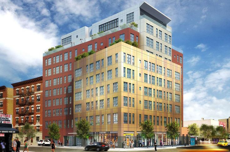 Construction wrapped up this year on 27 Albany Avenue. Rendering via Loci Architecture.