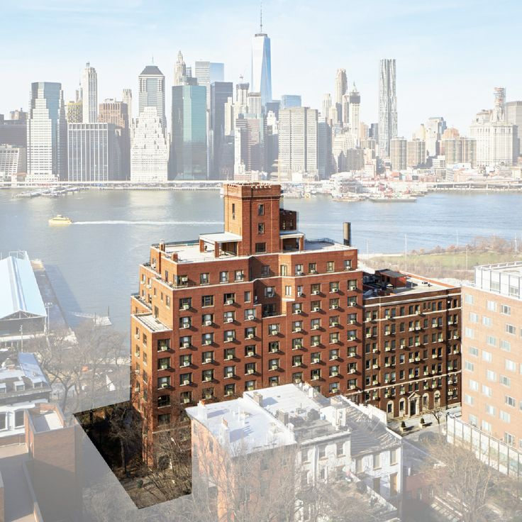 The historic building boasts stunning views of the Freedom Tower and more; HS2 Architecture for LPC