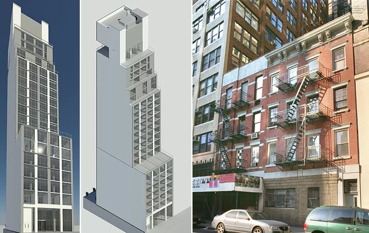 319-321 West 38th Street (Renderings via LK Design Bureau)