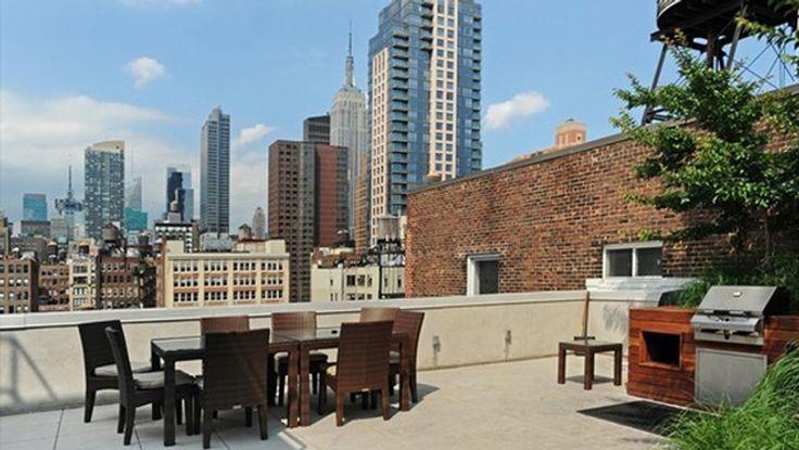 Terrace, 133 West 22nd Street, Condo, Manhattan, NYC