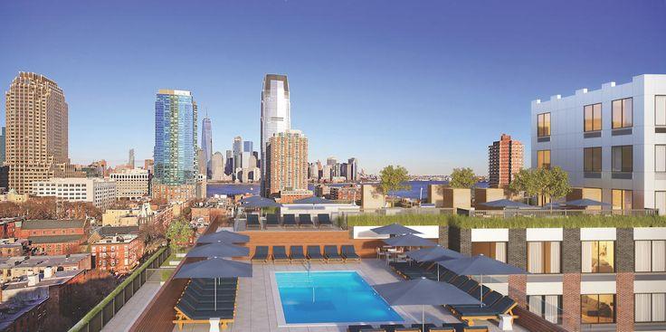 Rendering of Lenox rooftop (Lenoxnj.com)