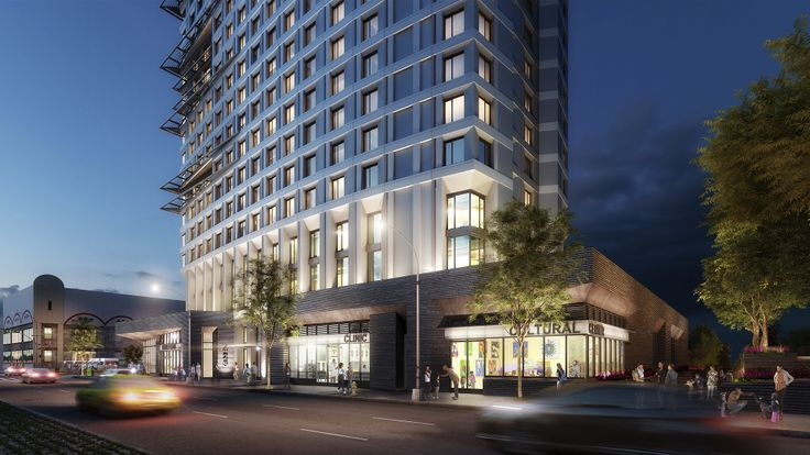 425 Grand Councourse (Rendering Credit: Dattner Architects)