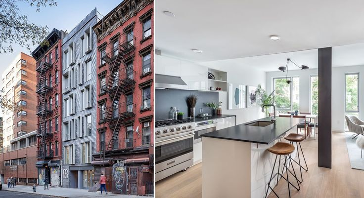 Idylls at 193 Henry Street on the Lower East Side (Images via THINK Architects and Douglas Elliman)